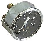Bezzera Manometer für Espressomaschine 0-3bar mit Markierung bei 1-1,5 Anschluss rückseitig ø...
