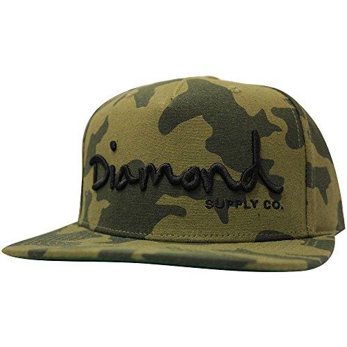 Diamond Supply Co. OG Script Snapback Camo