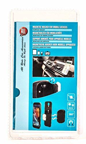 Auto Magnethalter für Handys, Oberflächenmontage, Hitzeresistent, selbstklebend, 360° drehbar, 3-teilig
