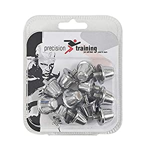 ND Sports Men's K-REY-RGS017 Precision Training Alloy 18mm Rugby Union Boot Studs Pack 72, Grey, Metal by Only Global Ltd