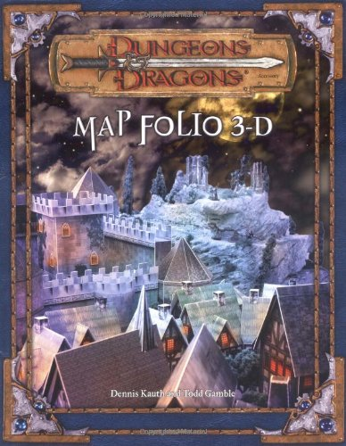 Dungeons & Dragons Map Folio 3D: Dungeons & Dragons Accessory (D&D Accessory)
