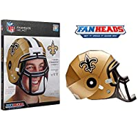 FanHeads - Wearable NFL Replica Helmets – Pick Your Team!, New Orleans Saints
