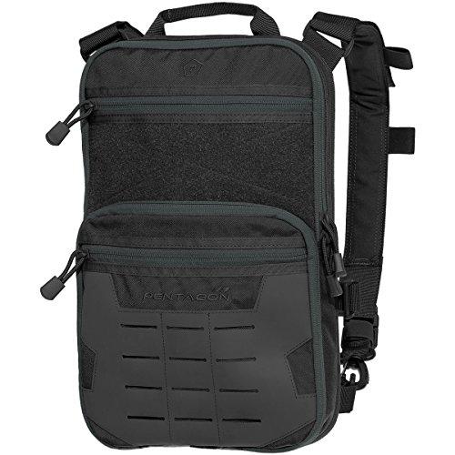 Pentagon Quick Bag Schwarz, Schwarz