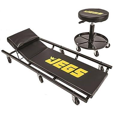 JEGS 81160 Creeper & Air Seat Set