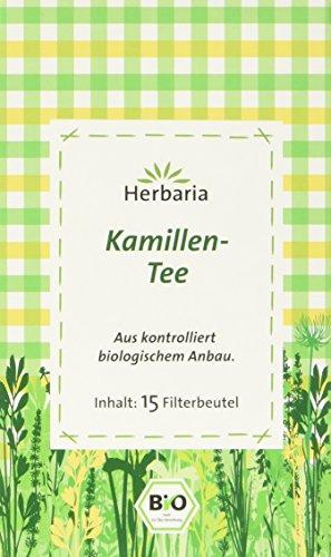 Herbaria Kamillen-Tee 15 Filterbeutel - Bio