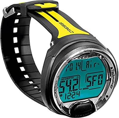 Cressi Leonardo, black/yellow