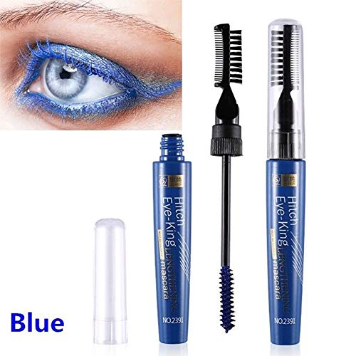 Rabusion Health For Women Long-Lasting 3D Mascara Waterproof Eyelash Curling Lashes Extension Mascara blue