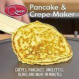 Quest 35540 Electric Pancake & Crepe Maker / 12