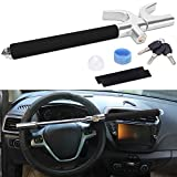 Turnart Steering Wheel Lock Universal Car Lock Anti-Theft Device Retractable Steering Lock With
