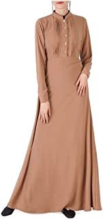 neveraway Women Muslim Classics Dubai Middle East Premium Kaftan Long Dress