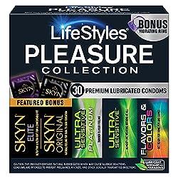 cheap Lifestyle Pleasure Collection, 30 Condoms
