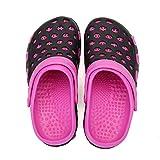XIANV Men Women Garden Clogs Shoes Beach Sneaker Work Summer Breathable Lightweight Quick Drying Sandals (Rose, Numeric_8)