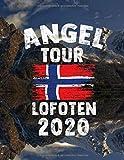 Angeltour Norwegen - Lofoten 2020: DIN A4 Fangbuch auf über 120 Seiten für den perfekten Angelurlaub in Norge. Angel Buch Notizbuch / Logbuch zum Eintragen der Fänge und Fische.