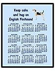 Englisch Foxhound–2016Kalender Mauspad (Keep Calm)