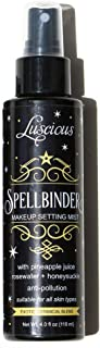 Spellbinder Makeup Setting Spray by Luscious Cosmetics - Made with Real Pineapple Juice, Rosewater, and Honeysuckle - Long Lasting Setting Spray Makeup - (4 fl oz / 118 ml)