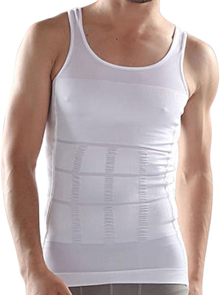 Camiseta sin mangas de adelgazamiento para hombre, ayuda a modelar el cuerpo y quemar grasas, sin pastillas