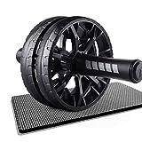XZJJZ Ab Wheel Roller, for Kern Abs Roll-oute Übung, Doppel-Rad-Set mit Dual-Fitness Krafttraining...