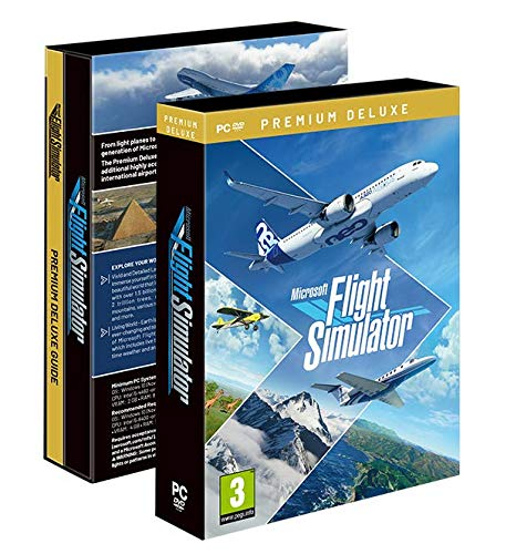 Microsoft Flight Simulator 2020 Premium Deluxe Edition - Limited - PC [Esclusiva Amazon.it] [Importación italiana]