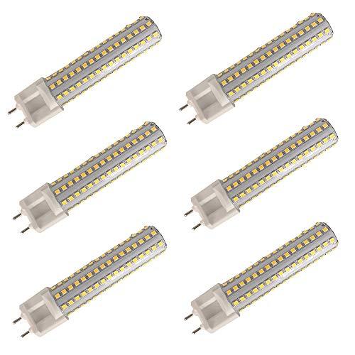 MATMO LED Lampe G12 Birne 15W Mais Licht AC85-265V Warmweiß 3000K 1500Lm 144PCS SMD2835 360 Grad LED Scheinwerfer 6 Stück