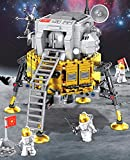 Creation New Aviation Space Toys | Space Lunar Lander Building Set Model Kit and Gift for Kids and Adults | Compatible with Major Brands | Quality Space Toy | 447 PCS