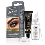 Henna für Augenbrauen ProClors Bio Formula Cremiges Henna mit Arganöl und Rizinusöl (1.1 Graphite...