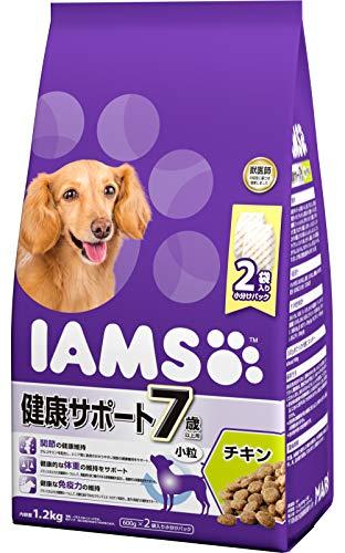 アイムス(IAMS)ドッグフード7歳以上用健康サポート小粒チキンシニア犬用1.2kg