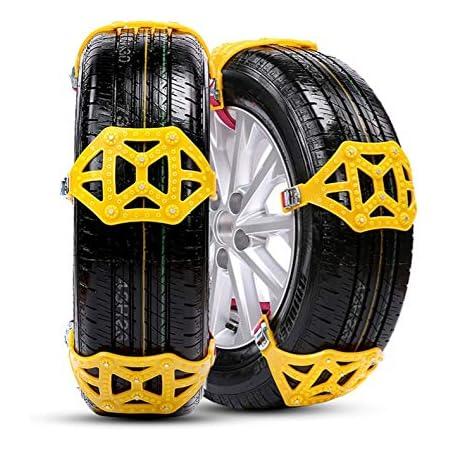 3 Stücke Metall Reifen Ketten Reifen Rutschfeste Stahlkette Schnee Schlamm Auto Sicherheitsreifen Gürtel Geeignet Für Auto Lkw Suv 165 195 Mm Auto
