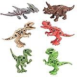 WSZMD Juguetes de Dinosaurios Desmontables, Juguetes de Dinosaurios Desmontables DIY con Destornillador, Rompecabezas de Regalo pequeño, tiranosaurio, Raptor, Pterodáctilo,Gift Box