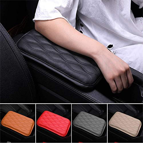 Mioloe Auto Center Console Pad,Universal Center Console Cover, Auto Armrest Cover, Car Armrest Seat Box Cover, Waterproof Armrest Cover, Fit for Most Vehicle, for SUV,Truck,Car