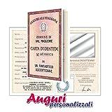 Bombo Biglietto Compleanno Auguri Carta d'identità 18 Anni Amico