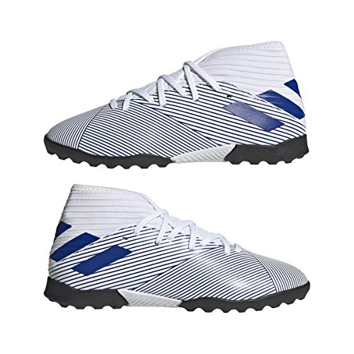 adidas Nemeziz 19.3 Tf J, Scarpe da Calcio per Bambini Unisex-Bimbi 0-24 Unisex-Bimbi 0-24, Azul Ftwr White Team Royal Blue Team Royal Blue, 36 2/3 EU