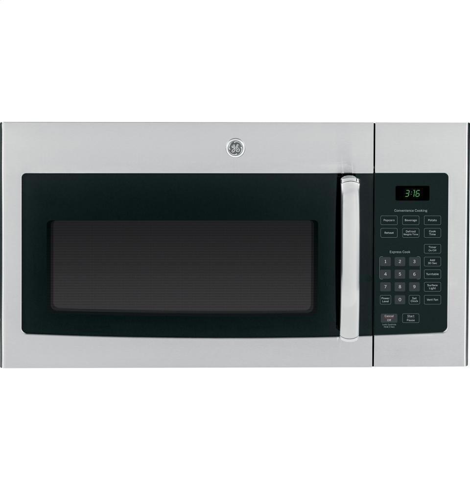GE JVM3160RFSS Range Microwave Stainless