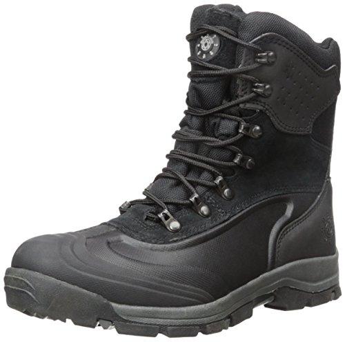 kingshow Men's 1586-2 Waterproof Black Cold Weather Boot 10.5 D(M) US