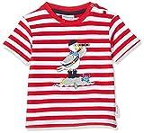 Salt & Pepper Baby-Jungen 03212103 T-Shirt, Rot (Fire Red 377), (Herstellergröße: 92)
