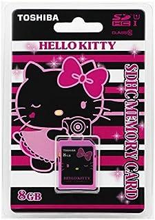 TOSHIBA SD Card Memory Card 8GB Hello Kitty SDHC UHS-I Card U1 Class 10 (SD-HK08GBL2T)