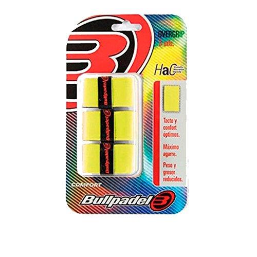 Bull padel OVERGRIP BULLPADEL GB1200 971, Adultos Unisex, Amarillo AZUFRE Fluor (Amarillo), Talla Única
