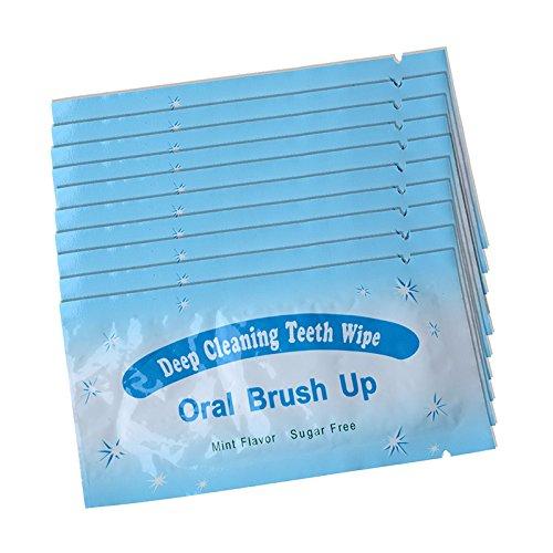 AZDENT® Zahnaufhellung Streifen,Professional Bleaching für Zähne Zahnweiss Stripes(Ihr Lächeln attraktiver machen)--100Stk. Blau