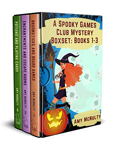 A Spooky Games Club Mystery Boxset: Books 1-3 by [Amy McNulty]