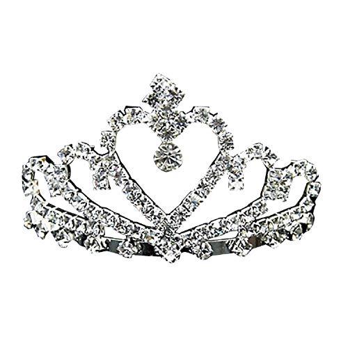 Oyfel Boda novia de diadema corona brillante diadema de diamantes de imitación...