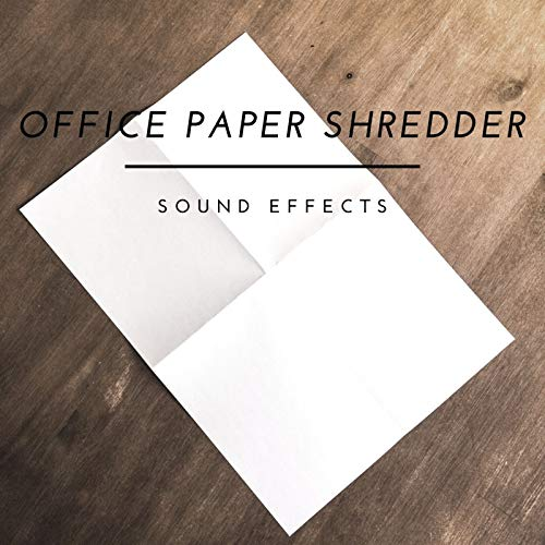 Office Paper Shredder Sound Effects