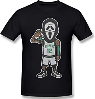 Men's Short Sleeve T-Shirt Scary Terry Rozier Novel and Unique Design Black