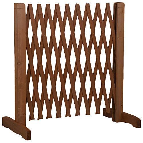 MaxxPro Barrier Puerta de seguridad para perro extensible, ancho 30-117 cm, altura 90 cm