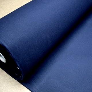 Stoff am Stück Stoff Baumwolle Zeltstoff marine wasserdicht Segeltuch dunkelblau blau