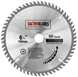 TCT16060T <span class='highlight'><span class='highlight'>Saxton</span></span> TCT Circular Wood Saw Blade 160mm x 60T for Festool TS55 Bosch Makita