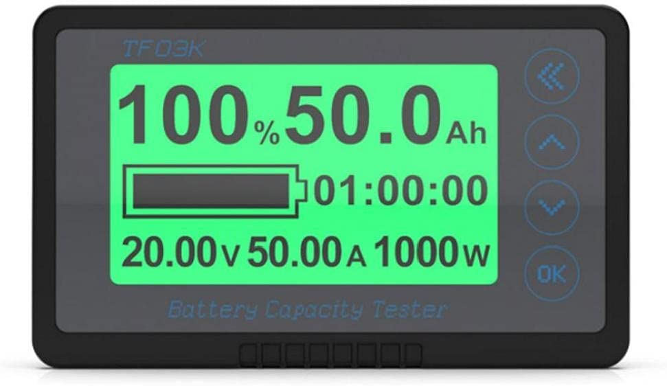 Battery Indicator Capacity Tester Voltage TF03K Max 81% OFF 350A Gau Spring new work one after another