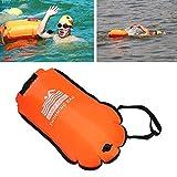 Schwimmboje für offenes Wasser Schwimmen, Sicherheitstasche für Triathleten und Schwimmkörper –...