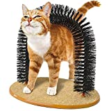 InnovaGoods IG811679 Rascador para Gatos y Arco Masajeador