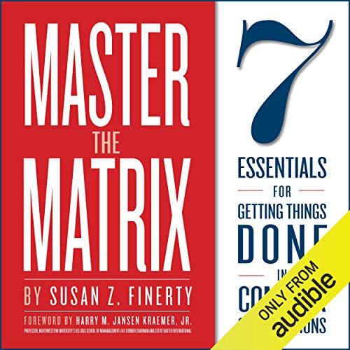 Master the Matrix audiobook cover art