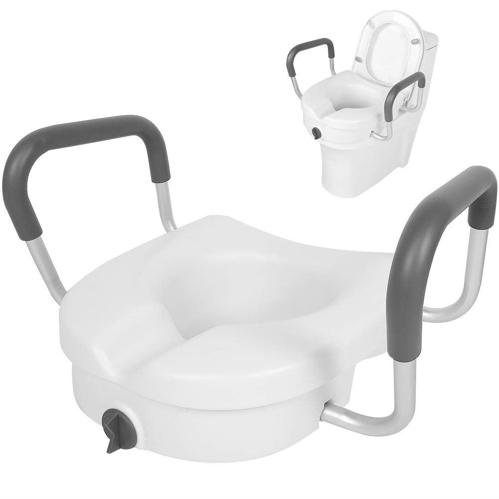 Raised Toilet Seat Max 81% Max 43% OFF OFF Adjustable Frame A