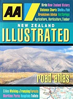 New Zealand Illustrated Road Atlas